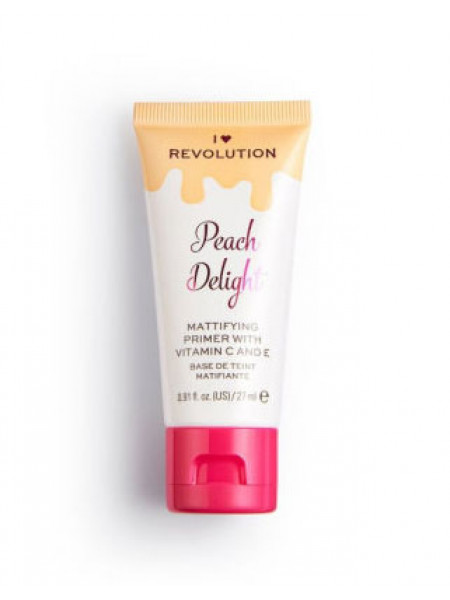 I HEART MAKEUP Праймер матирующий Peach Delight Mattifying Primer With Vitamin C And E