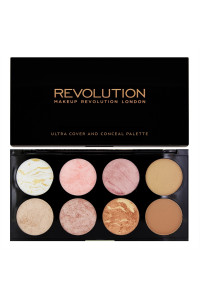 Revolution Makeup Палетка румян Ultra Blush Palette Golden Sugar