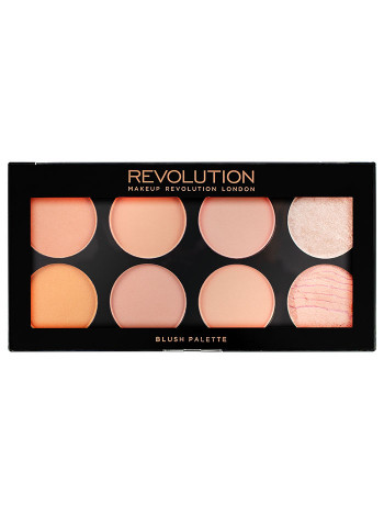 Makeup Revolution Палетка румян Ultra Blush Palette, Hot Spice